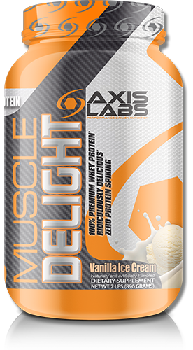 free axis labs muscle delight with special promotion bottle