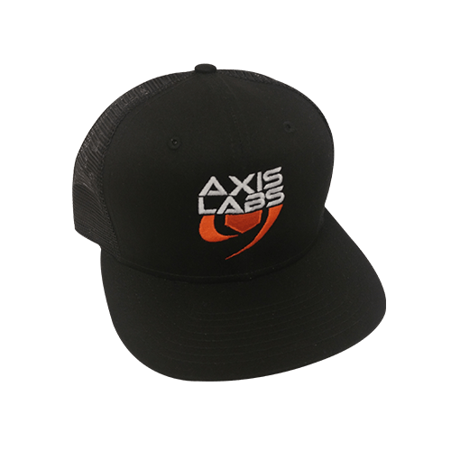 Axis Labs Embroidered Flat Bill Snap Back