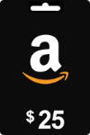 $25 Amazon Gift Card (Reward w/ $100 Purchase)