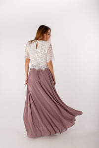 Kelly Maxi Skirt Mauve