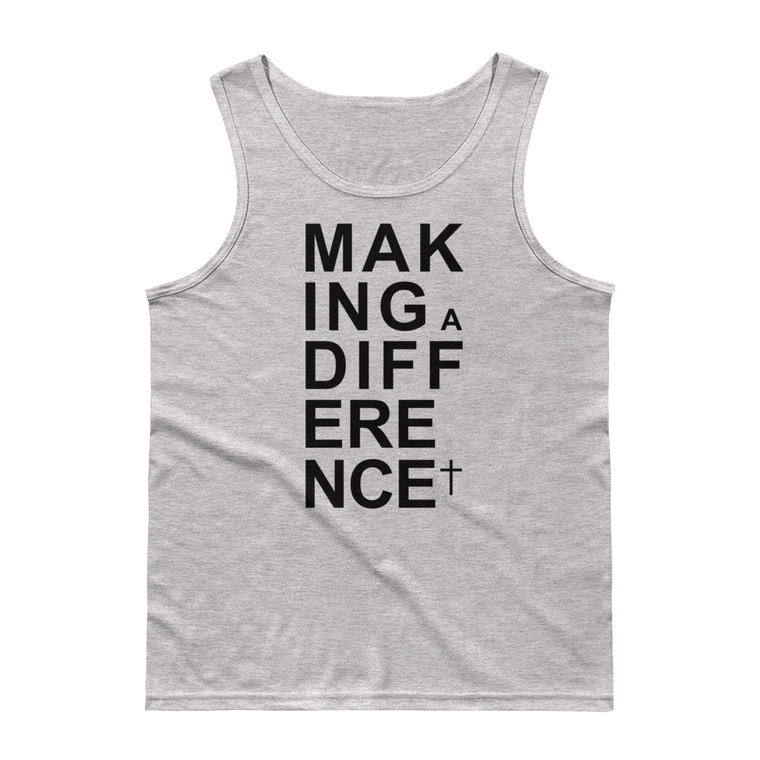 Making A Difference Tank Tops