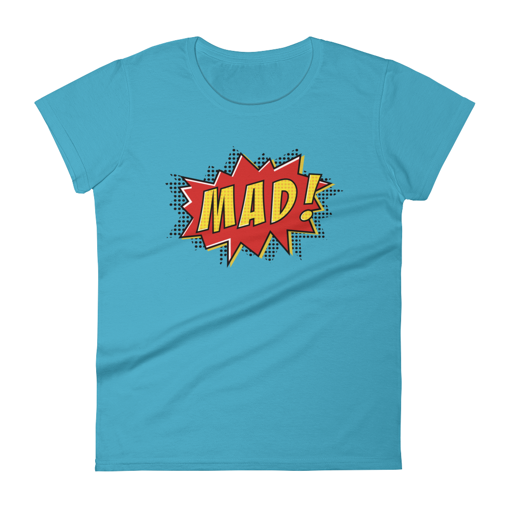 MAD Pop Art Fitted Tee