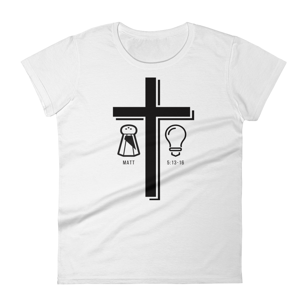 Salt and Light Fitted Tee
