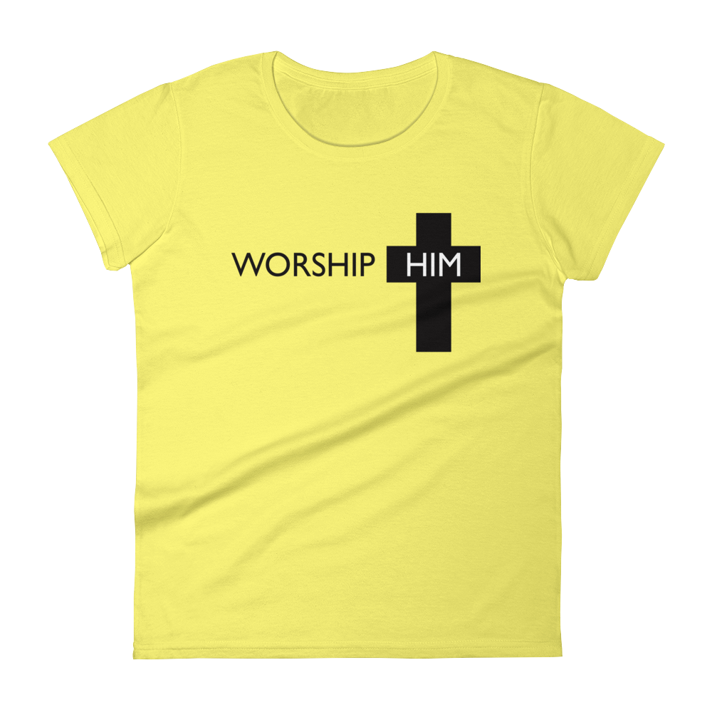 Worship Cross Fitted Tee
