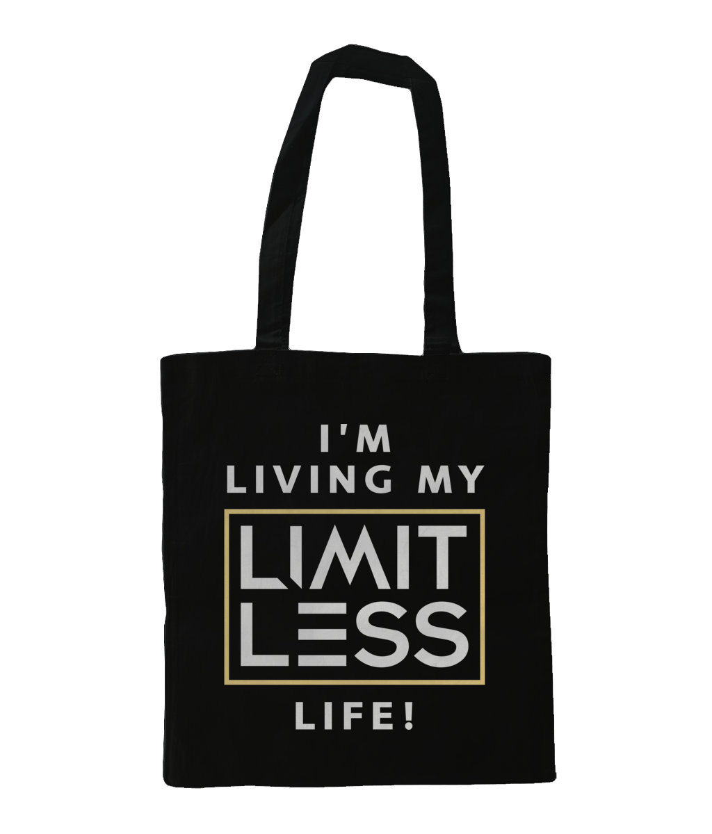 Christian Accessories Black Limitless Life Design Tote Bag