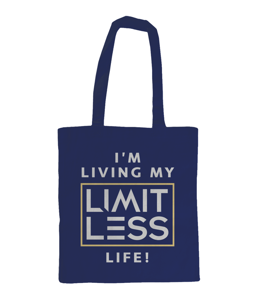 Christian Accessories Navy Limitless Life Design Tote Bag