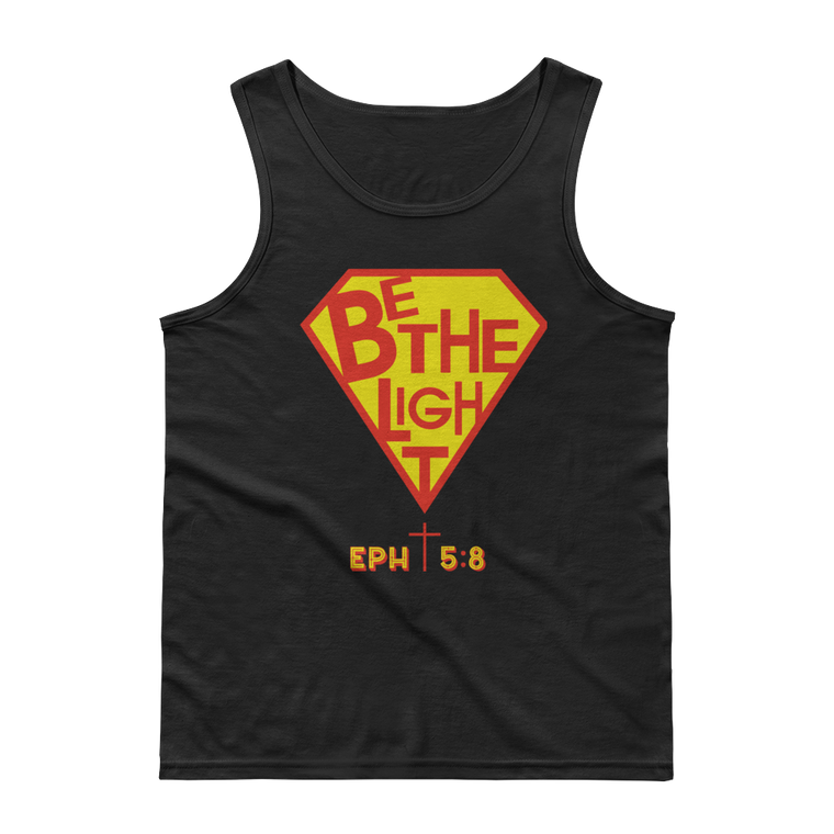 Be The Light Tank Tops