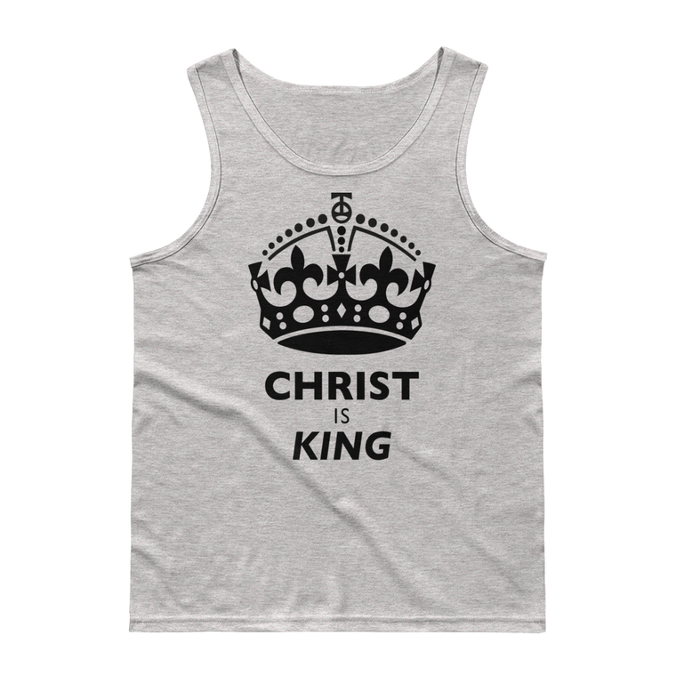 Christ is King Tank Tops