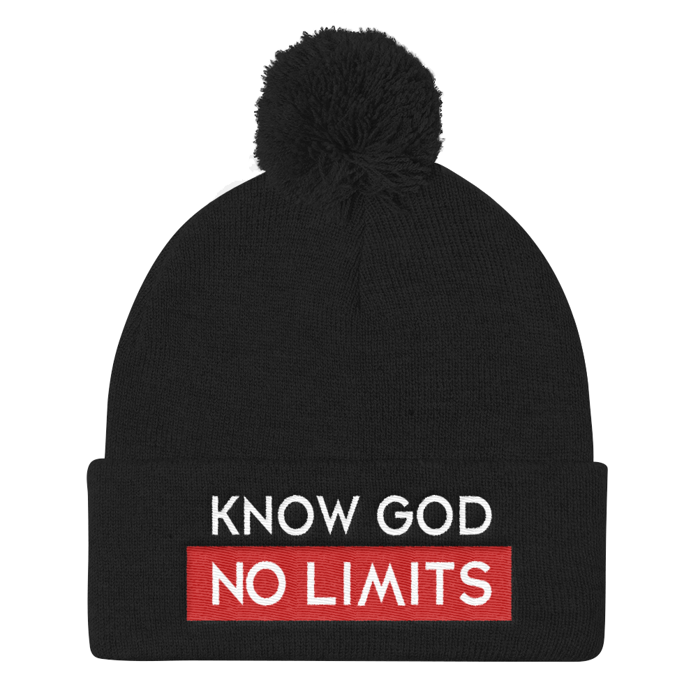 Know God Pom Pom Knitwear