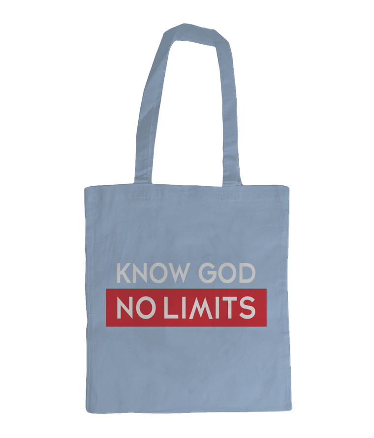Know God Tote Bag