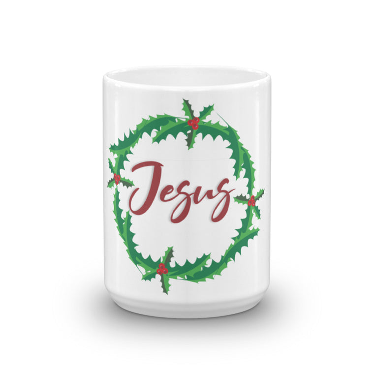 Holly Jesus Gift Mug