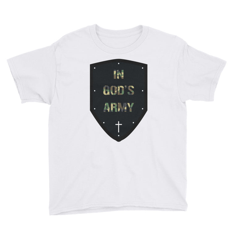 In God's Army Youth Short Sleeve T-Shirt