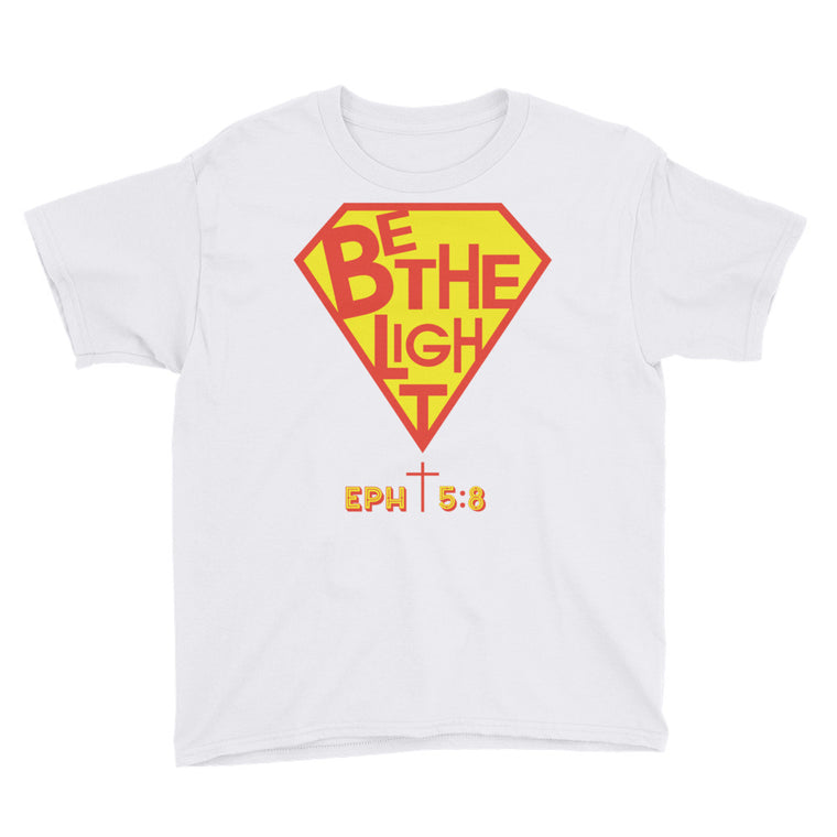 Be The Light Youth T Shirt