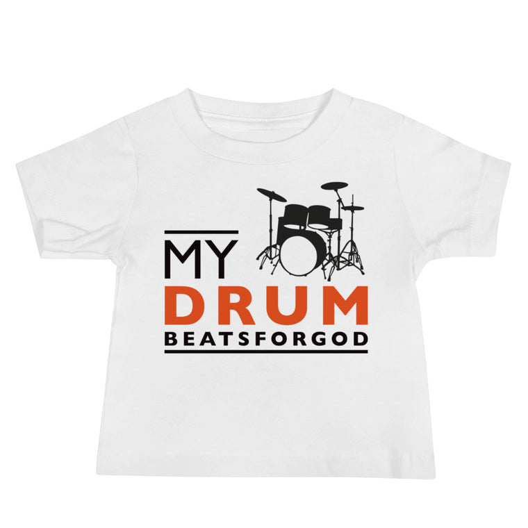 My Drum Beats Baby Jersey Short Sleeve Tee