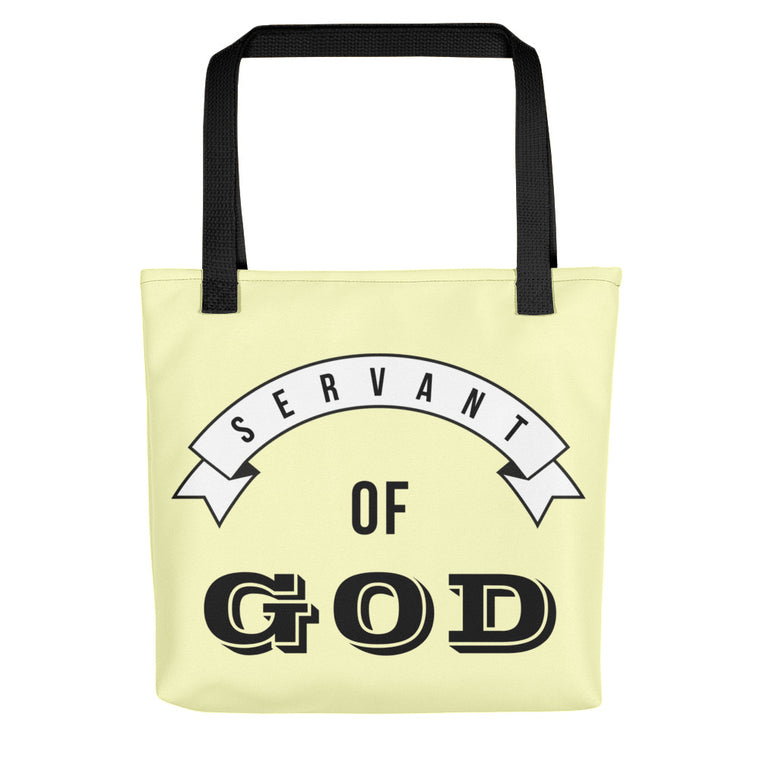 Servant of God Tote bag