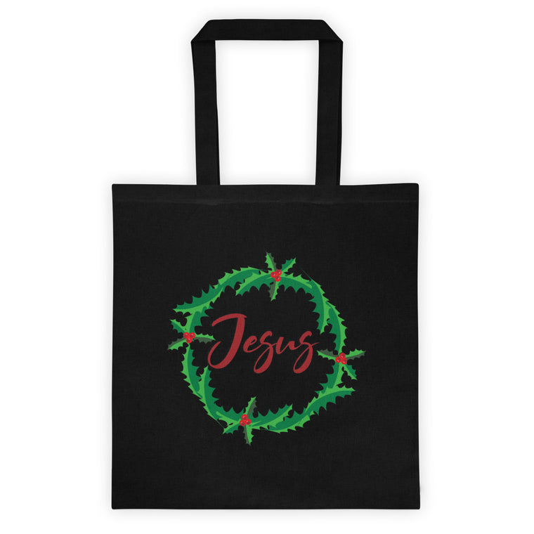 Holly Jesus Tote bag