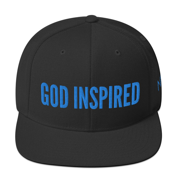 God Inspired Blue Snapback