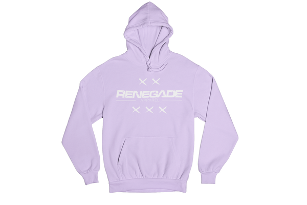 Cross Hoodie Light Purple