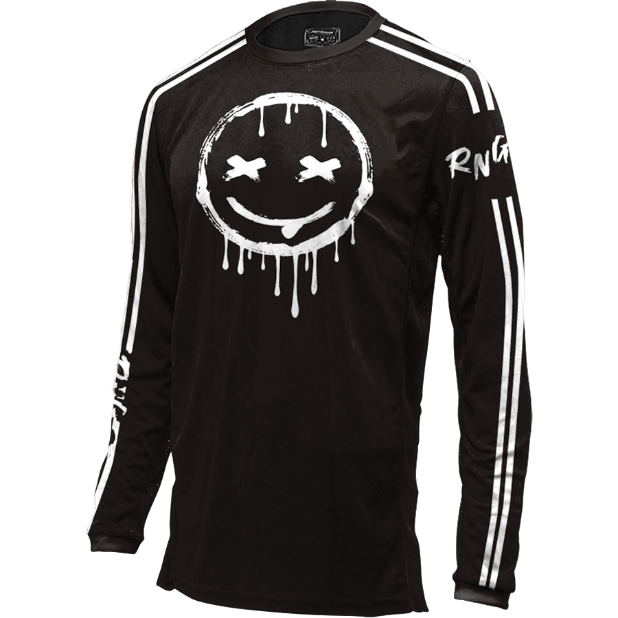 Smiley Jersey Black