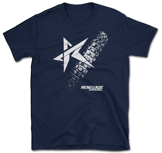 Tread T Navy