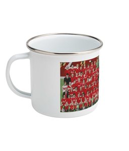 Legends Of Anfield Painting Enamel Mug 10oz - Legends of Anfield Painting