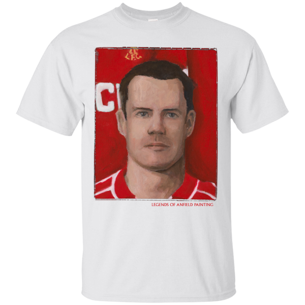 Legends Of Anfield Painting - Jamie Carragher Ultra Cotton T-Shirt - Legends of Anfield Painting