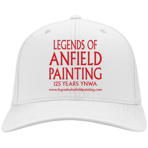 Legends Of Anfield Painting Twill Cap - White - Legends of Anfield Painting