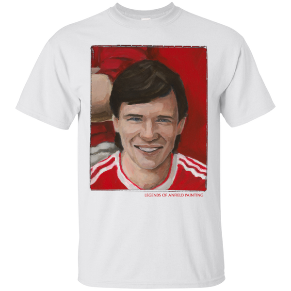 Legends Of Anfield Painting - Alan Hansen Ultra Cotton T-Shirt - Legends of Anfield Painting