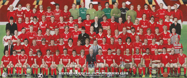 Legends Of Anfield Painting - 2 Metre Wide Canvas Print (Anywhere in the World) - Legends of Anfield Painting