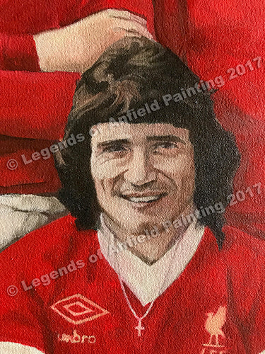 Legends Of Anfield Painting - A1 Premium Print (Outside Australia) - Legends of Anfield Painting