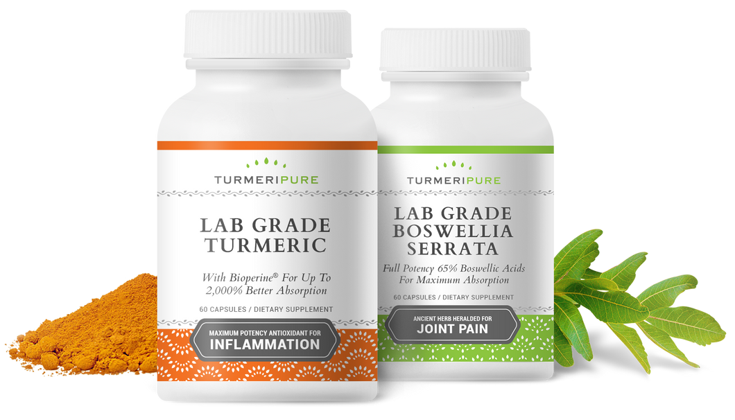 Lab Grade Turmeric & Boswellia Serrata Package