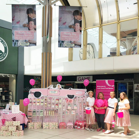 The Vintage Cosmetic Company Raises Money for Charity