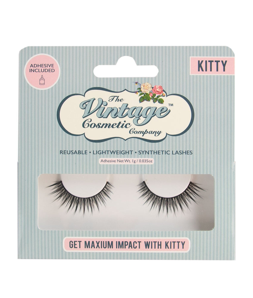 Kitty False Strip Lashes