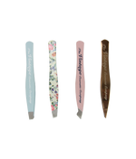 4 piece mini tweezer set