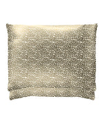 leopard print pair of satin pillowcases