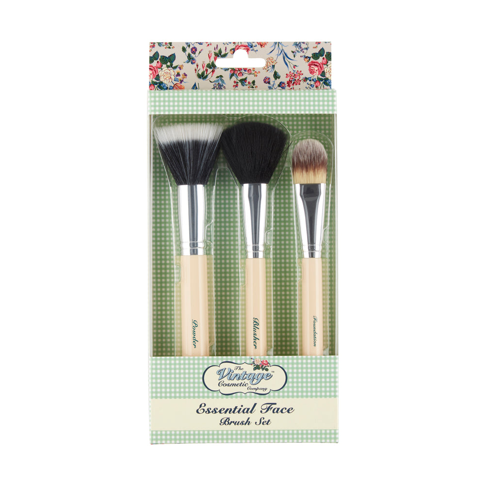 Essential Face Make-up Brush Set packaging