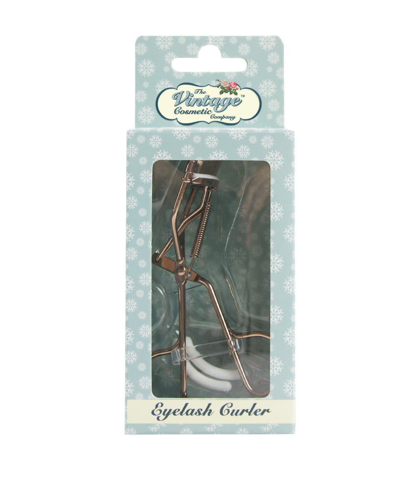 Eyelash Curler Rose Gold Snowflake