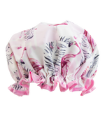 Shower Cap Pink Flamingo