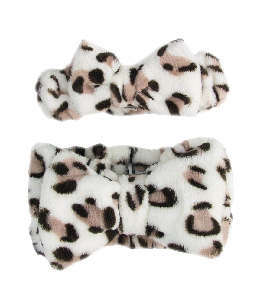 Little Darling & Me Make-up Headbands Leopard Print