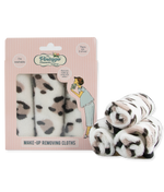 make-up removing cloths leopard print packaging