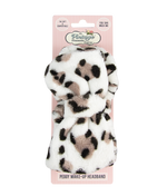 peggy make-up headband leopard print packaging