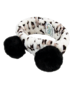Pom Pom Make-up Headband Leopard Print