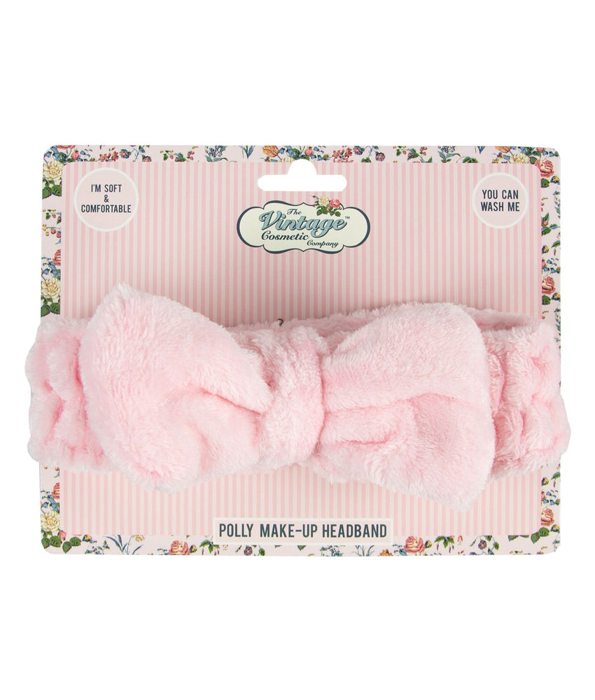 polly make-up headband pink packaging