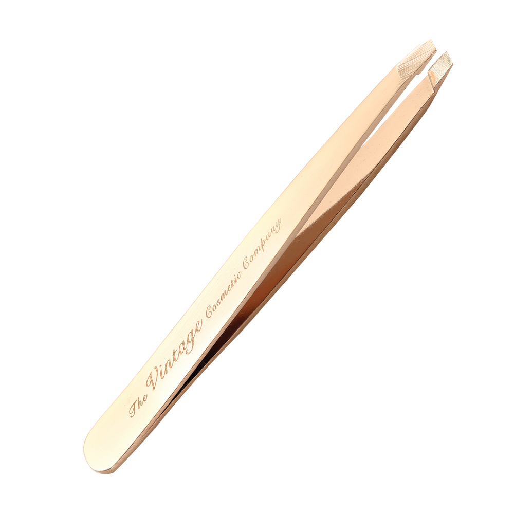 Slanted Tweezers Rose Gold