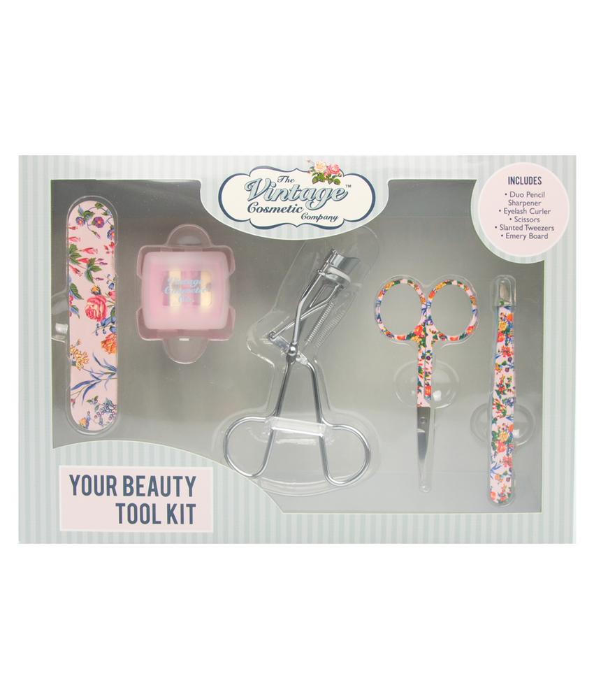 Your Beauty Tool Kit Pink Floral