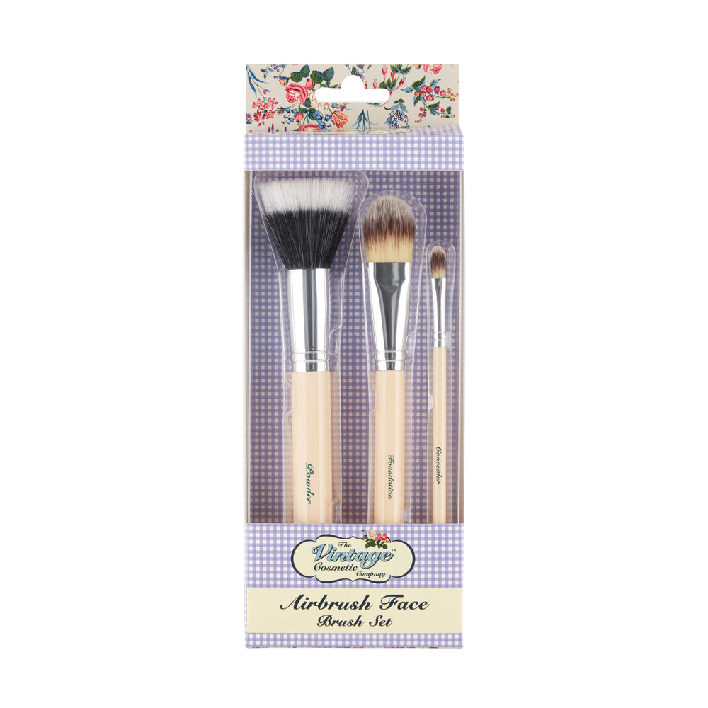 Airbrush Face Make-up Brush Set packaging