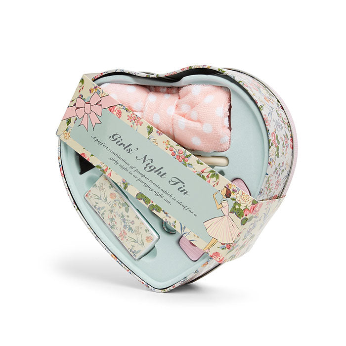 Girls Night Tin Heart