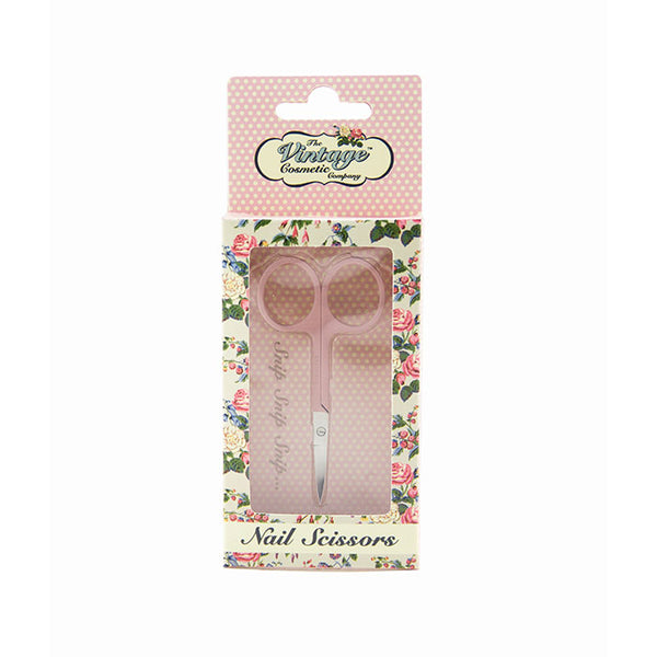 Nail Scissors Soft Touch Pink