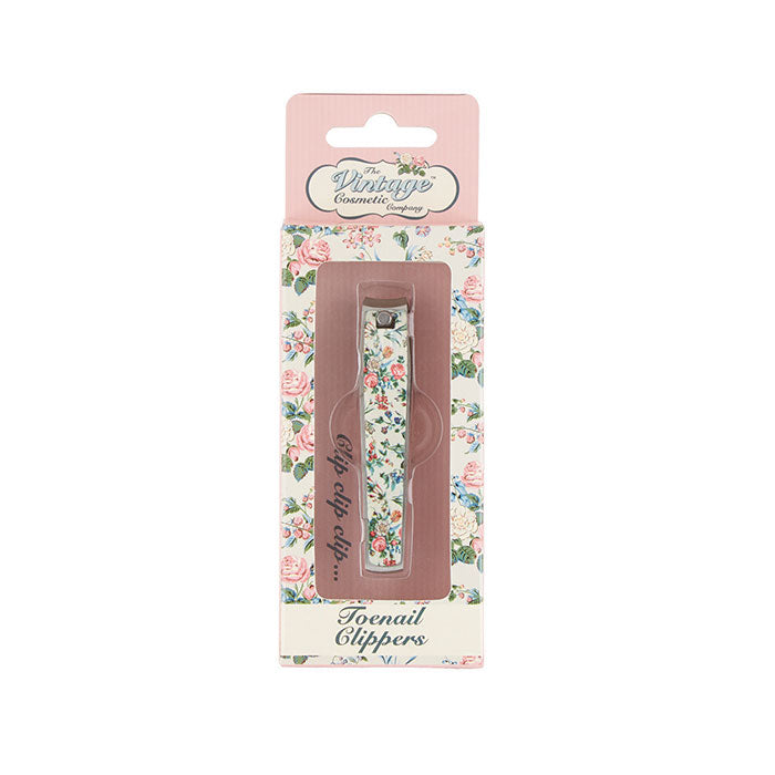 toenail clippers floral in packaging