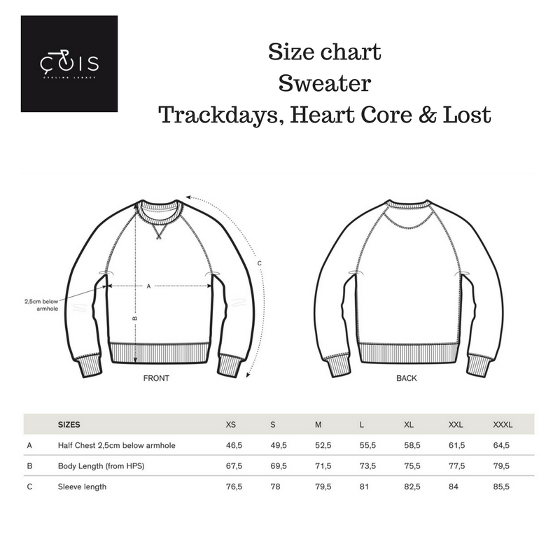 Sweater Trackdays, Heart Core & Lost